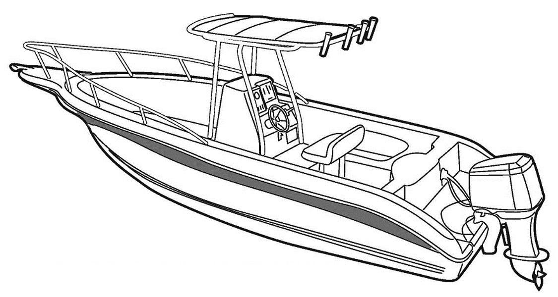 Line Art Boat : Kolorowanki statki do druku i malowanki